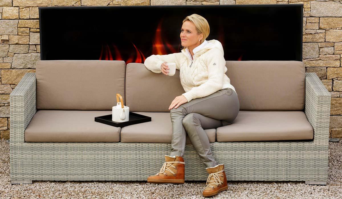 Saniton Slider Home Feuer Tee