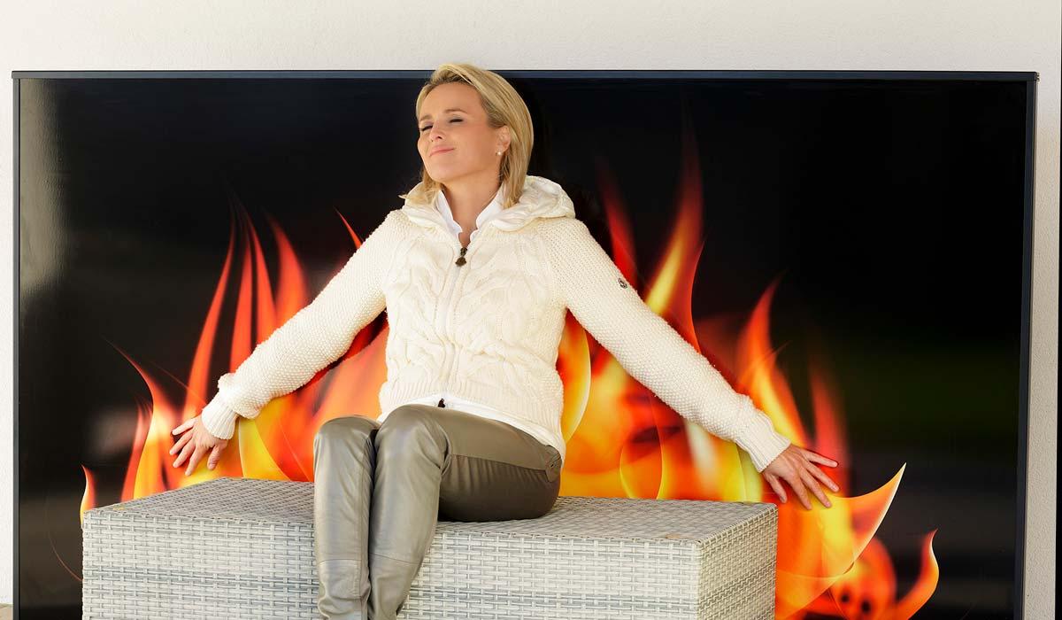 Saniton Slider Home Feuer
