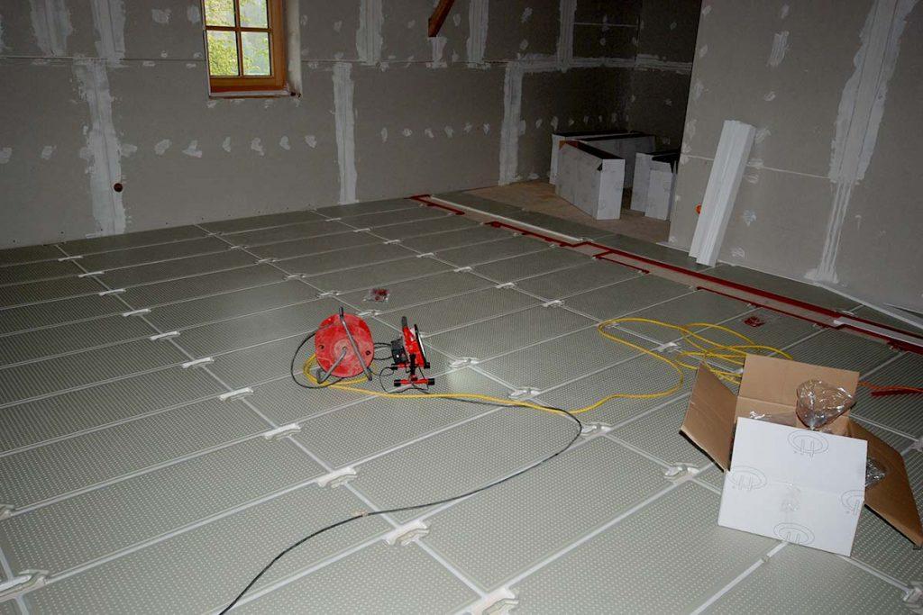 Saniton Fußbodenheizung für Neubau, Altbau und Sanierung