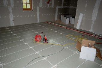 Saniton Fußbodenheizung Sanierung Altbau